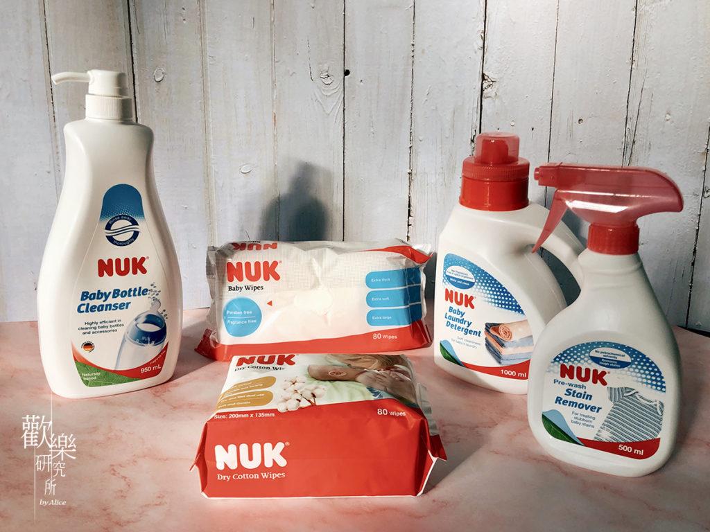 NUKTaiwan、NUK加大加厚濕紙巾、NUK嬰兒乾濕兩用紙巾、NUK嬰兒洗衣精、NUK寶寶居家清潔、NUK溫柔呵護寶寶每一天、嬰兒衣物去漬劑、育兒用品